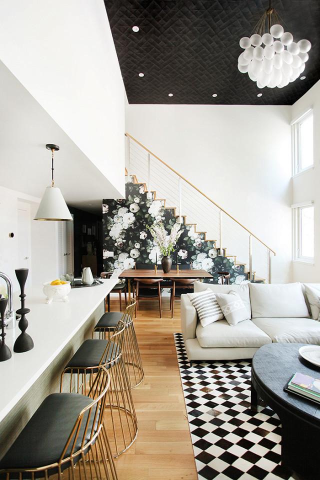wnętrze wstylu boho, mieszkanie wstylu vintage, jak urządzić mieszkanie,