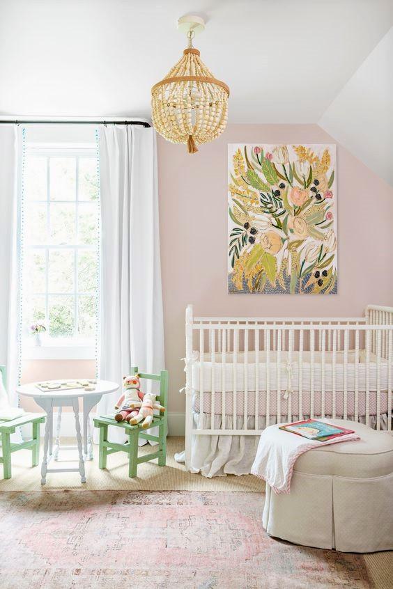 pokój dziecinny, pokój dla dziecka,kolory pantone, trendy kolorystyczne 2017, wiosenne dekoracje domieszkania,