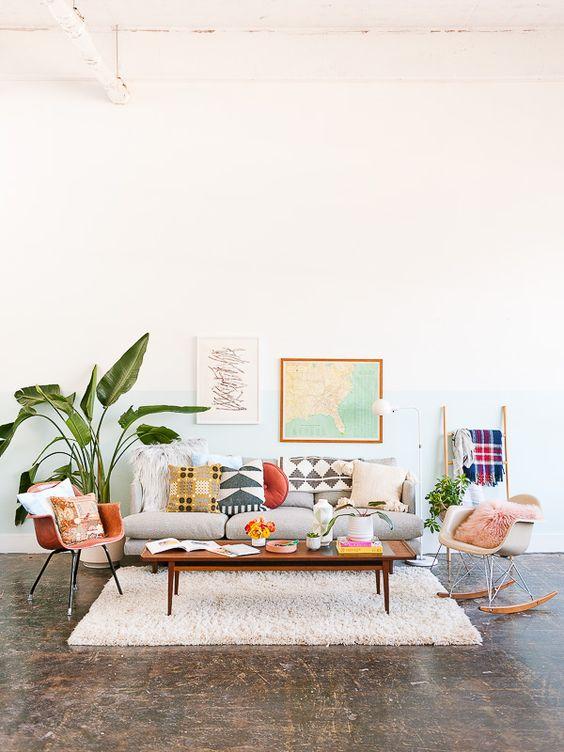 cali cool, dom naplaży, mieszkanie wstylu boho, mieszkanie wstylu kalifornijskim