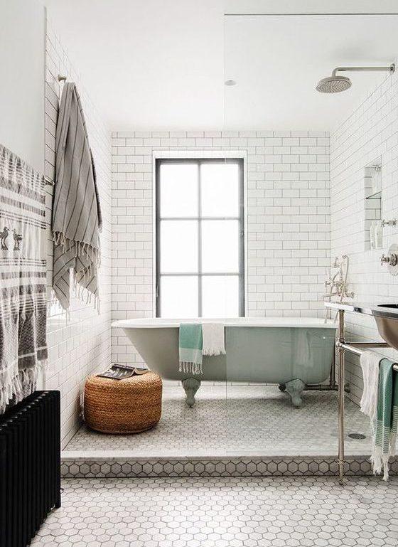 łazienka wstylu skandynawskim