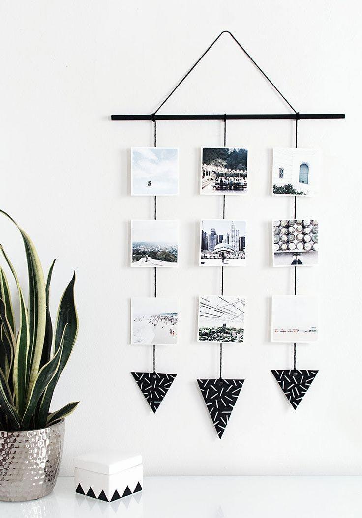 instalacja fotograficzna, DIY, światełka wewnętrzu,