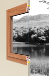 nowoczesne okna bluintero, styl paryski, okna eleganckie