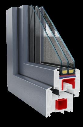 okna premium rehau blusynego