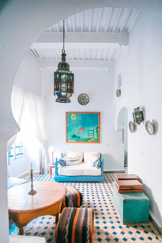 kolorowe wnętrze domu