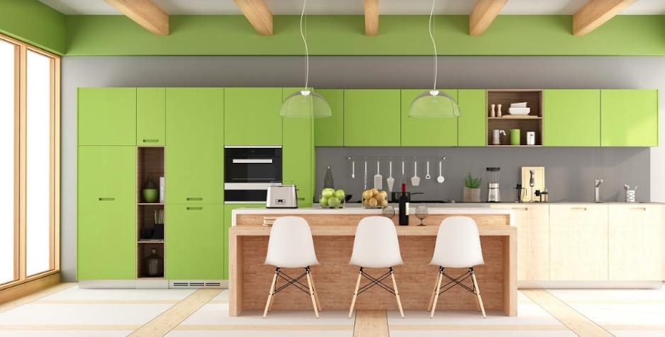 Kuchnia pachnąca wiosną – 10 pomysłów nazieloną kuchnię
