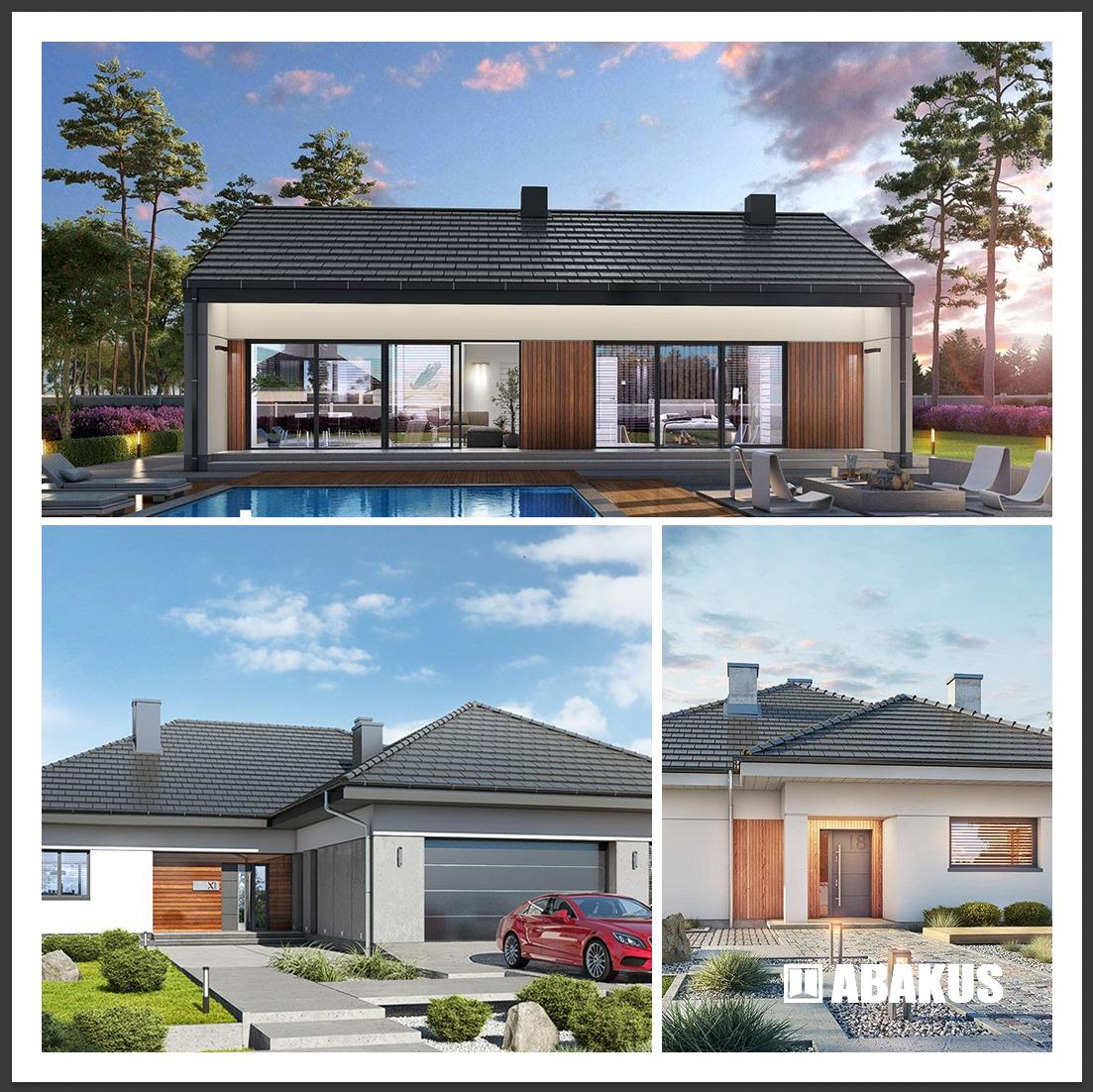 Najpopularniejsze projekty domów 2021