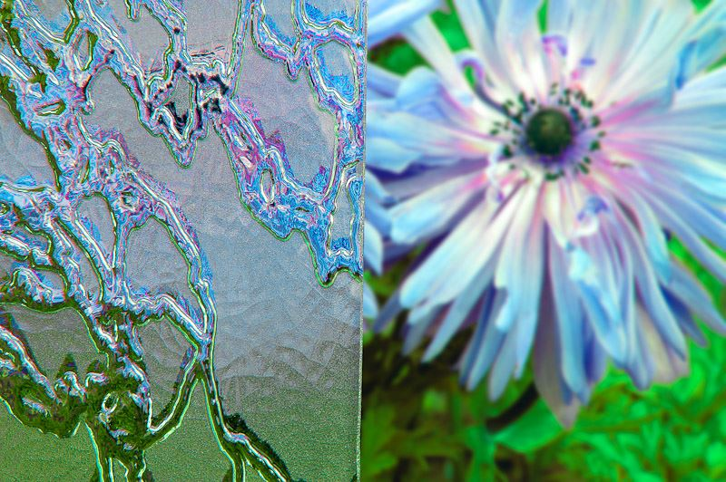Szkło ornamentowe Delta matowy, szyby zeszkłem ornamentowym, szkło ornamentowe, ornamenty