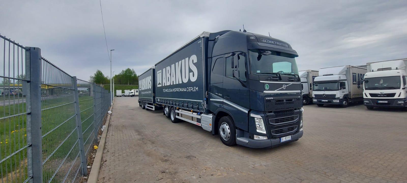 Samochód dostawczy Volvo FH —najlepsze możliwości wtransporcie budowlanym